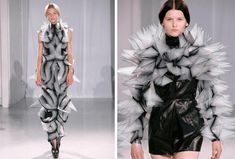 Iris van Herpen. 3D printed fashion