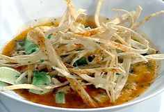 Emeril's Favorite Tortilla Soup ~ this is the best tortilla soup recipe!