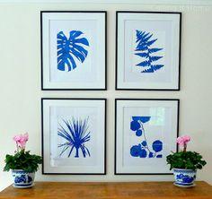 Blue botanicals #coastal