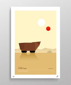 Star Wars Episode IV A New Hope Poster 11X17 by Pixology on Etsy