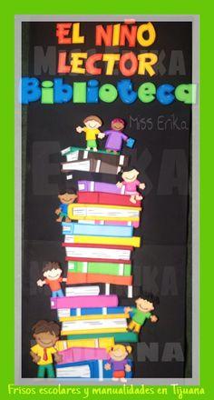 Dibujos Para Decorar Bibliotecas Escolares