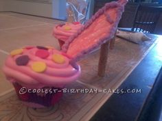 High Heel Cupcakes for a Shoe Lover's Birthday... This website is the Pinterest of birthday cake ideas