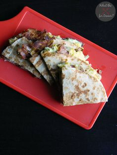 Avocado Ranch Breakfast Quesadilla