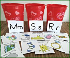 Phonemic awareness kit with some cute ideas