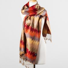 Stay cozy this fall in this luxe, soft scarf.