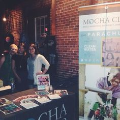 Hope y'all had a great weekend! Our MC volunteers rocked it at the @parachute + @mattwertz show last Friday in Nashville!
