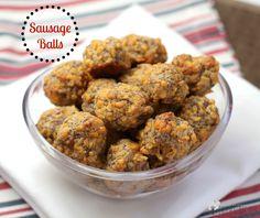 Sausage Balls   EricasRecipes.com