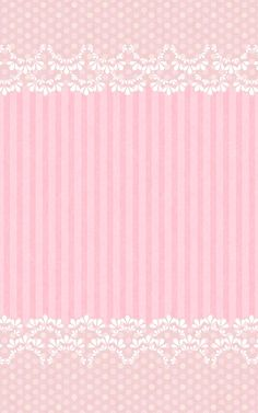 Sweet Pink Lace Wallpaper