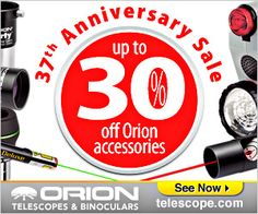37th anniversari, anniversari sale, qualiti binocular, orion 37th
