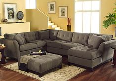 Sectional- gray