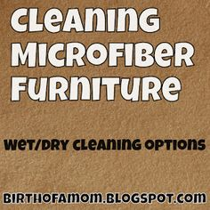 HH6&You: How to Clean Microfiber Furniture - Ms. MommyHH6