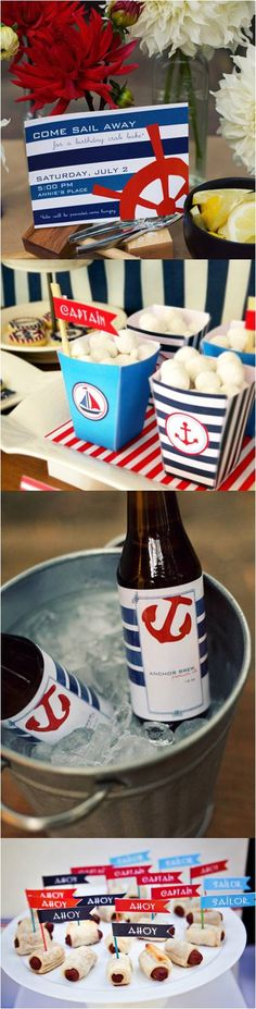Nautical / 4th of July Party