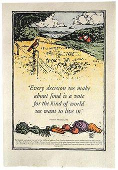local food, food justic