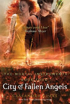 City of Fallen Angels by Cassandra Clare A little darker than the other books I dig it