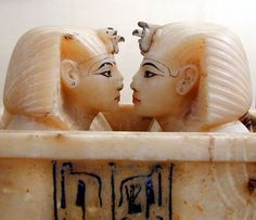Alabaster piece, from Tutankhamun's Tomb KV62.