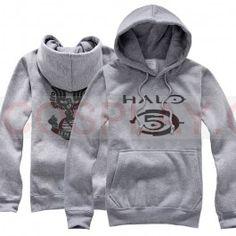 Halo Cosplay Halo 5 Costume Fleece Pullover Hoodie Thick Winter Coat
