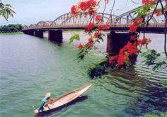 a bridge at Hue, Vietnam