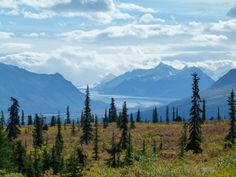 The Glenn Highway...oh what a beautiful Alaska drive!