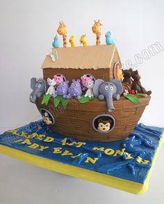 Celebrate with Cake!: Noah's Ark Cake