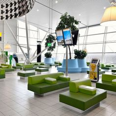 Amsterdam-Schiphol   Departure Lounge 4, designed by Tjep