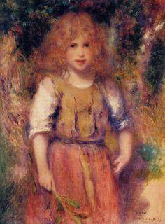 Gypsy Girl - Pierre-Auguste Renoir