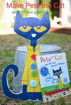 Pete The Cat and His Four Groovy Buttons- Counting Activity