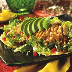 Grilled Chick Tostada Mexican Food