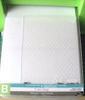 Continuous Cuttlebug Embossing - Tutorial & card