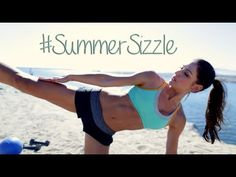 ▶ Total-Body Summer Toned! Your Summer Sizzle Routine from Tone It Up - YouTube