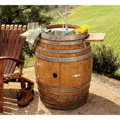 Amazon.com: Wine Barrel Sink: Patio, Lawn & Garden