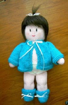 Knitting Pattern Central - Free Pattern - Amy Doll