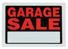 How to plan a $2,000 Garage Sale:  Tips for a Successful Sale