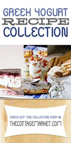 Greek Yogurt Dessert Recipe Collection