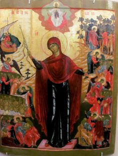 The Theotokos icon 17 c.