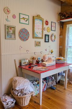 sensational sewing nook