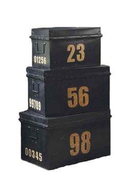 stacking trunks- paris market