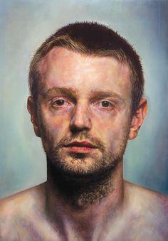 """Self Portrait"" - oil on canvas  Ian Cumberland"