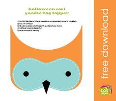 owl craft for my halloween blog/tpt?