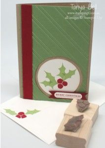Stampin' Up! - Undefined Hollly with stamps