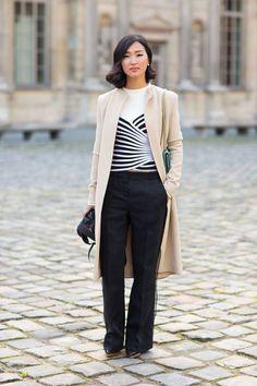 Street style looks straight from the sidewalks of Paris.