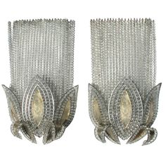French Art Deco Sconces ~ Bagues