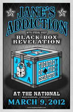 Jane's Addiction with Black Box Revelation at The National on March 9, 2012