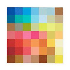 pixel digit, color pixel, kids rooms decor, digit art, kids wall, canvas wall art, digital art, digit wall, kid wall