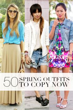 50 cute spring outfits