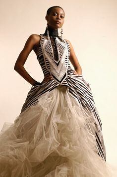 african fashion | Tumblr african fashion, wedding dressses, fashion models, dream, african weddings, gowns, dresses, african prints, tulle