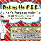 Here are activities to help your students practice determining the author's purpose. The activities are meant to be additional and should be used o...