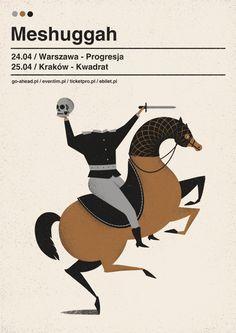 meshuggah | poster on Behance