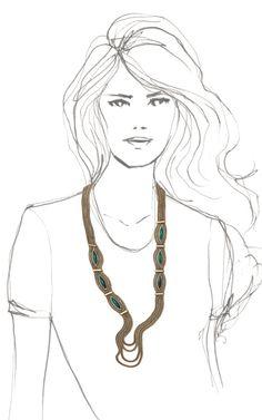 Sunset Long Necklace by Aurelie Bidermann  #Jewelry #Spring2013