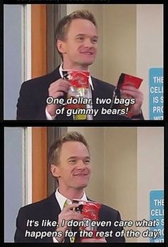 HA! gummy bears, mothers, neil patrick harris, funny pictures, bag, funni, gummi bear, quot, true stories