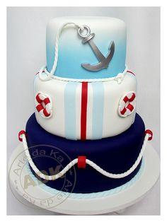 Bolo Marinheiro - Nautical cake